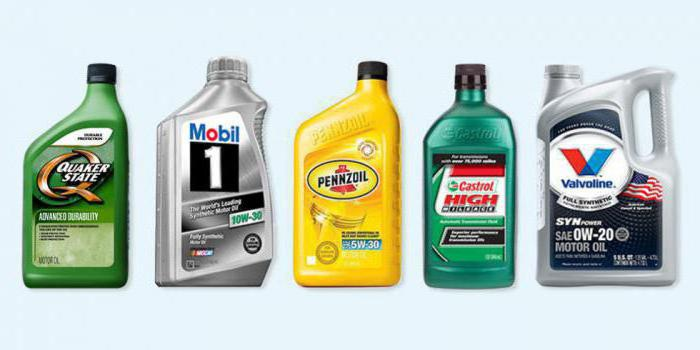 what types of motor oil are